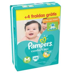 Fralda Pampers Confort Sec